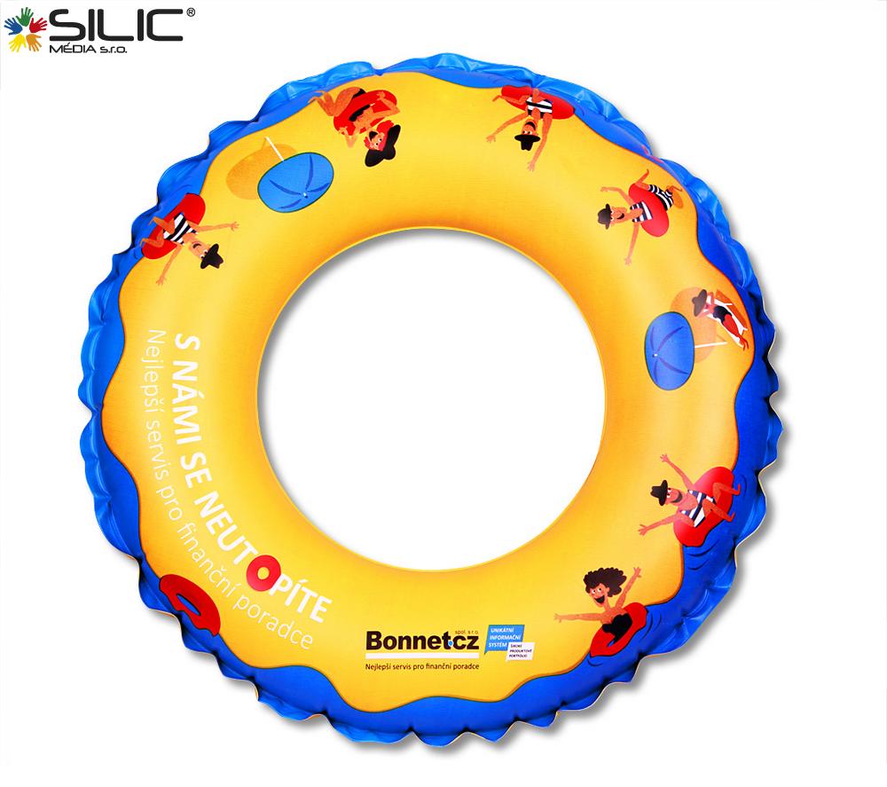 nafukovací kruhy s logem