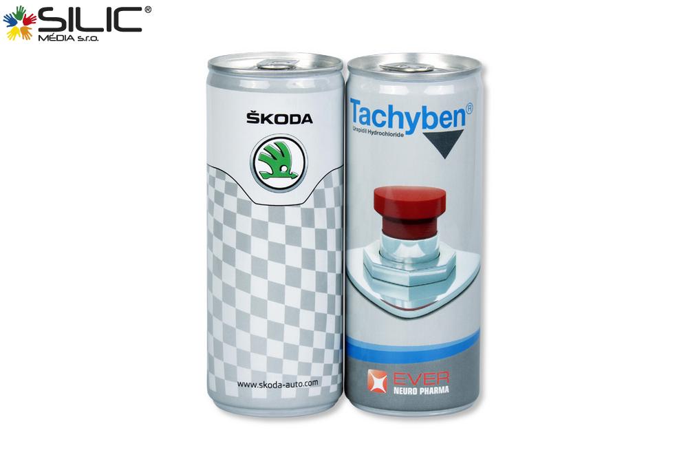 energy drinky s vlastní etiketou